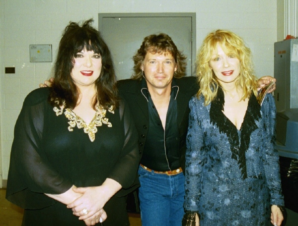 With Ann & Nancy Wilson