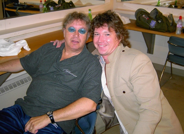 With Ian Paice of Deep Purple