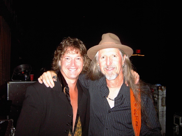 With Pat Simmons of the Doobie Brothers